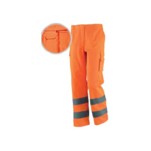 Pantalone Alta Visibilità Arancio estivo - Officine Tortora