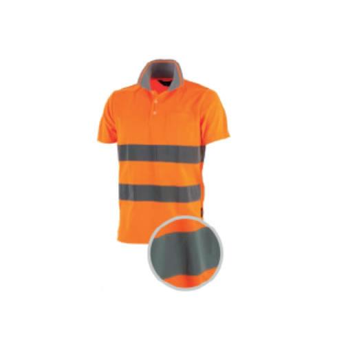 Polo Alta Visibilità Arancio - Officine Tortora