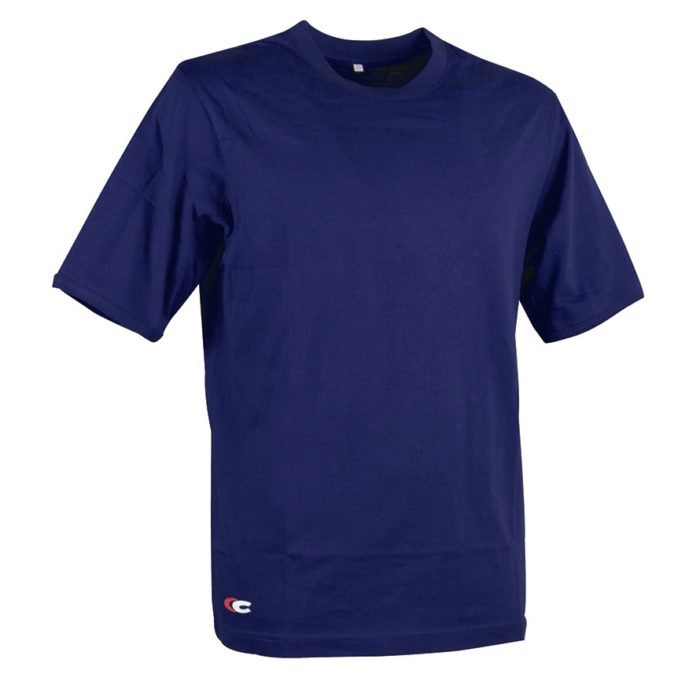 T-Shirt Cofra Zanzibar Blu - Officine Tortora